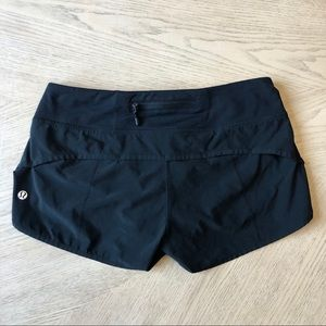 Lululemon Run Speed Shorts in Black